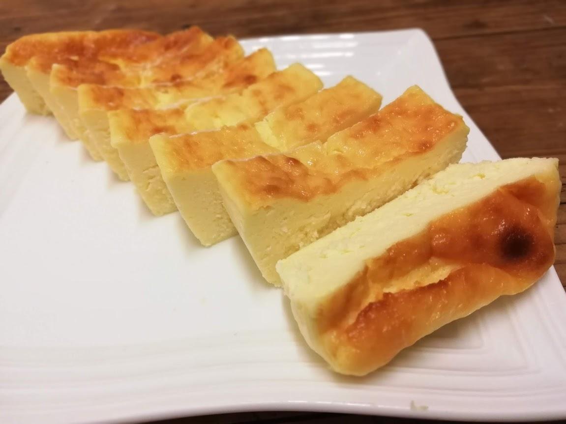 【おやつ】冷凍しても美味しい!!アトリエタタン風なチーズケーキ♪