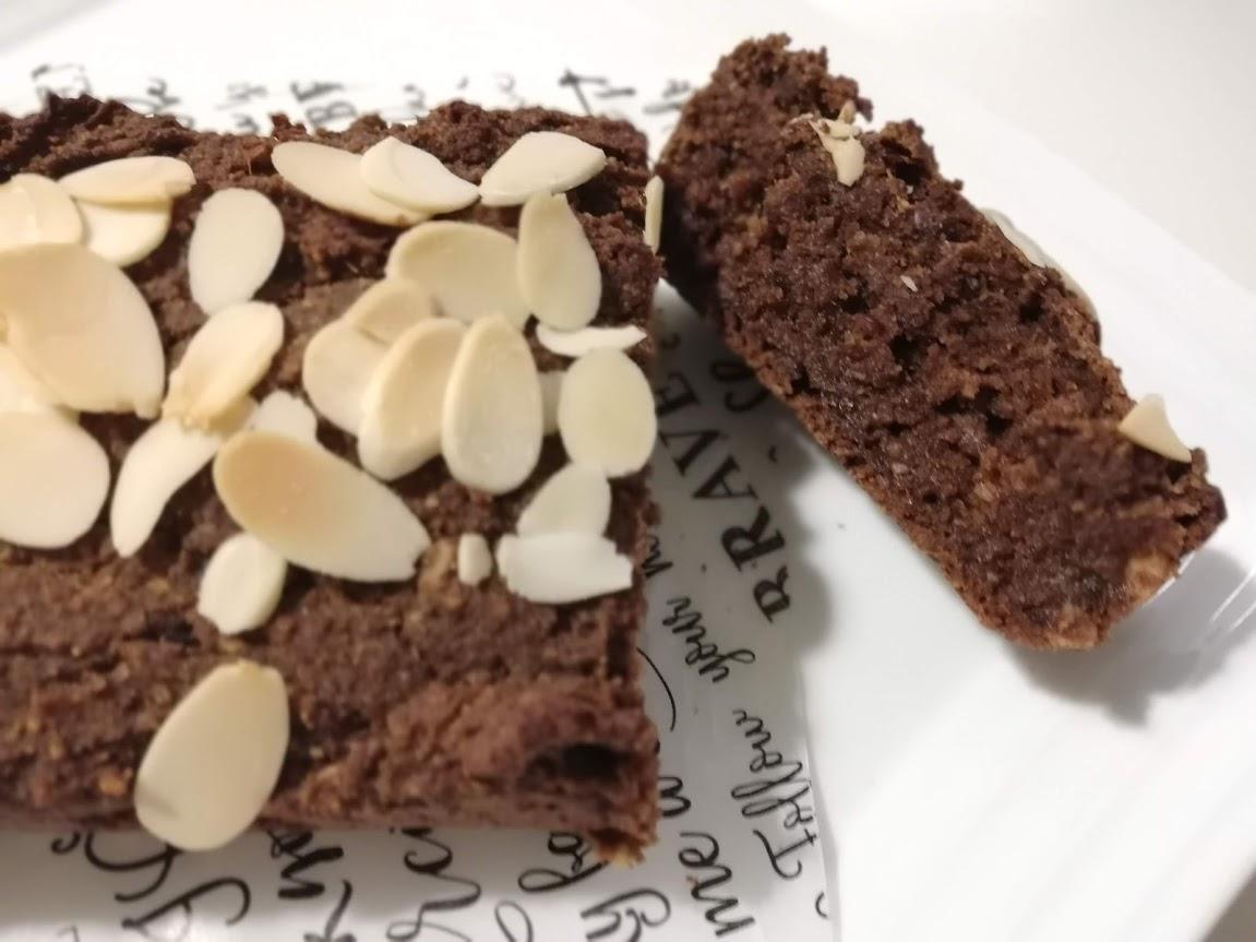 【おやつ】砂糖不使用のヴィーガン・チョコケーキ